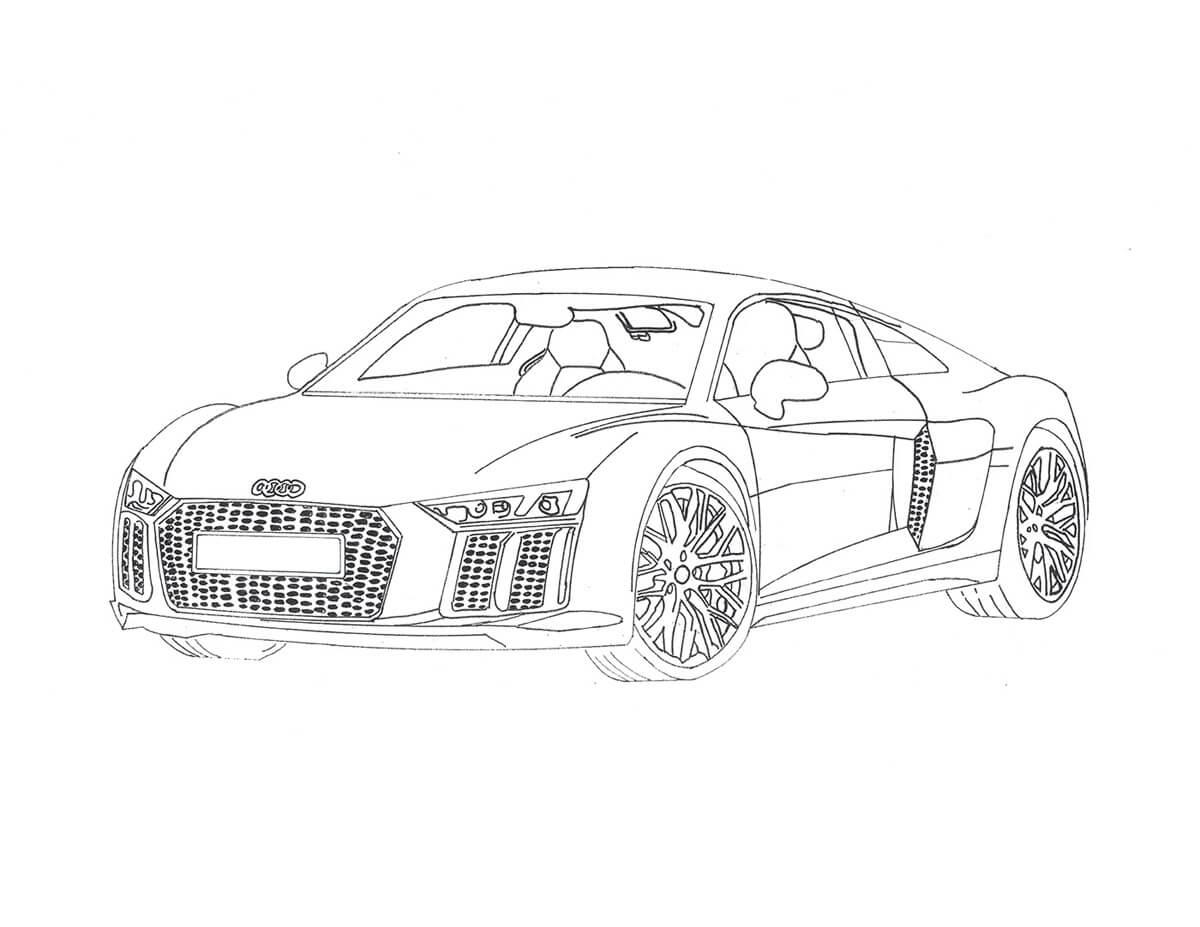 Audi R8 Rendering (2)