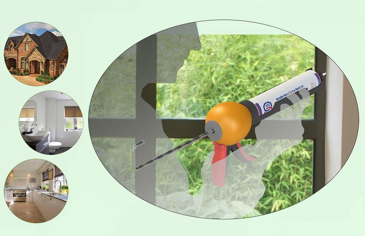 Ergonomic Caulking Gun (4)
