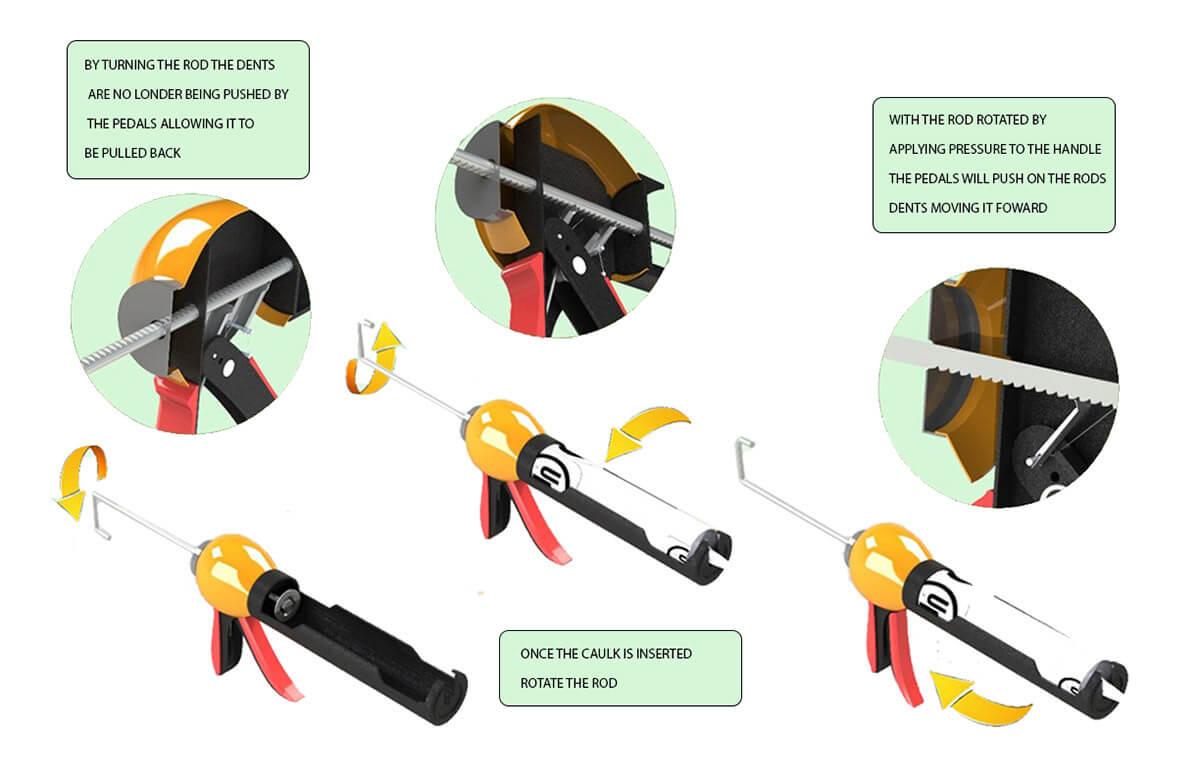 Ergonomic Caulking Gun (6)