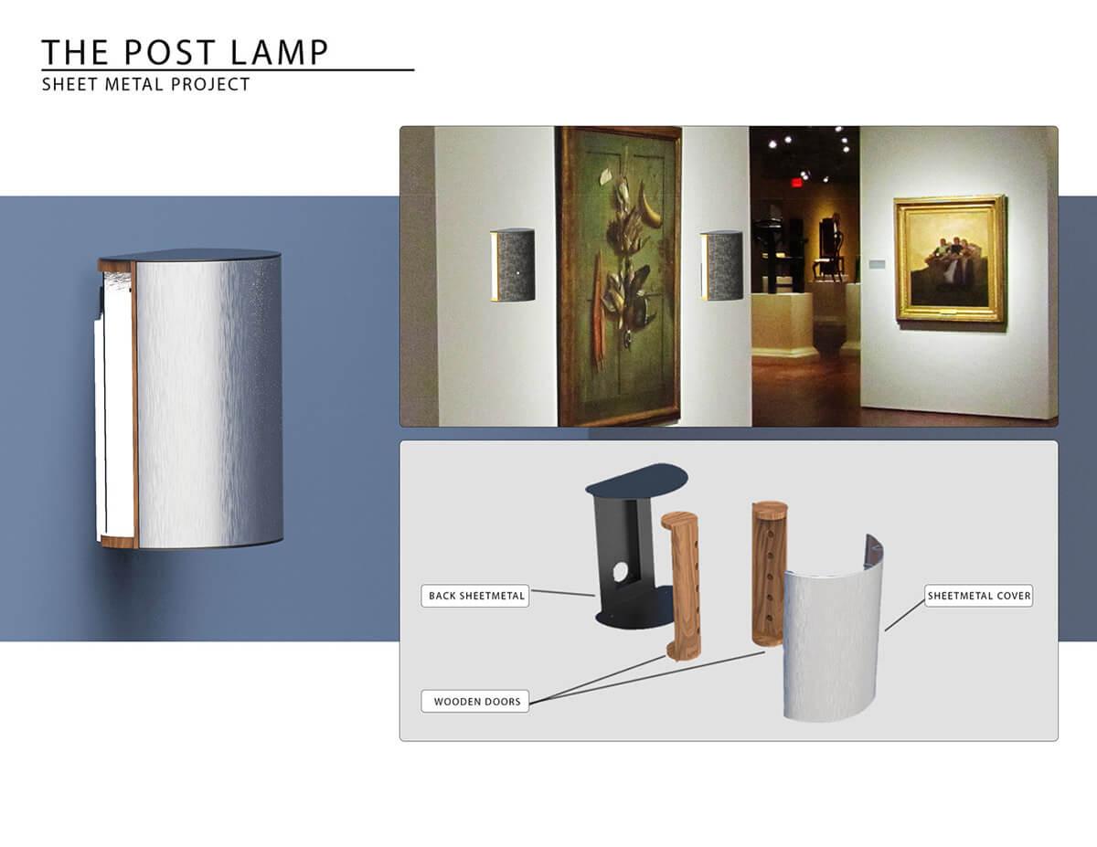 Sheet Metal Lamp (1)
