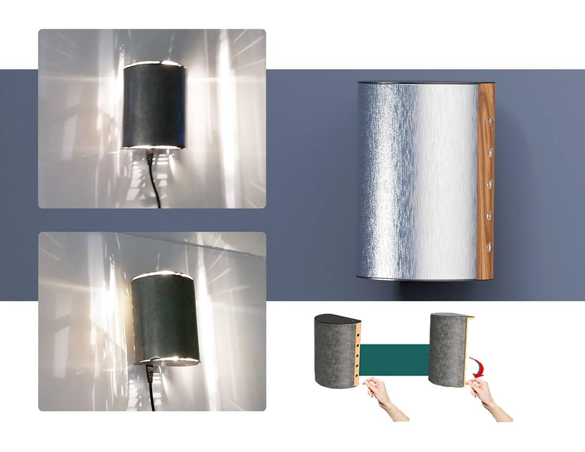 Sheet Metal Lamp (2)
